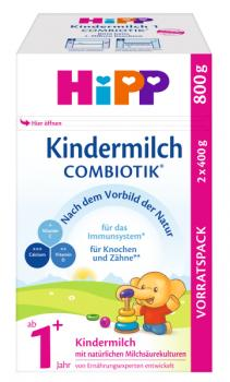 Hipp Kindermilch Combiotik 1+ 800g - from 12 months