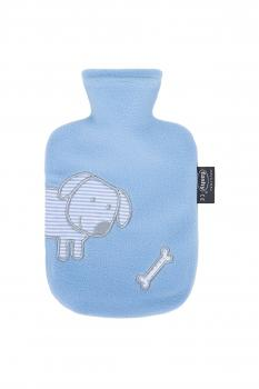 FASHY Model.6505_51 Hot water bottle with Fleece cover 0.8L