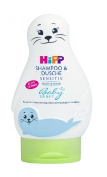 HIPP Babysanft Shampoo & Shower Gel 200ml