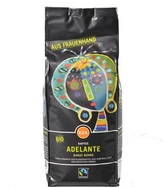 EZA ADELANTE Whole Coffee Beans 1kg - support female workers in HONDURAS-PERU