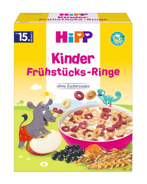 Hipp Organic Breakfast Loops for Kids 140g - from 15 months