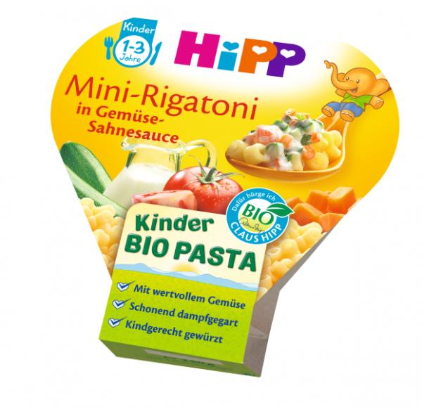 Hipp Kids Menu Organic Mini-Rigatoni in a creamy vegetable sauce 250g - from 12 months