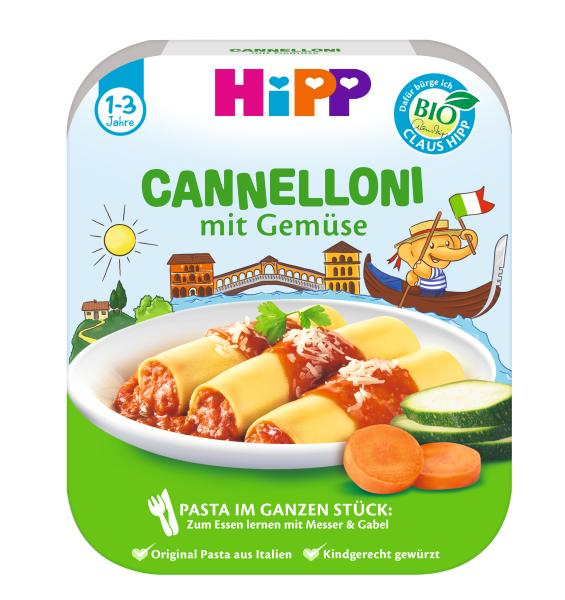 Hipp Lamamma Kids Menu Organic Cannelloni 250g - from 12 months