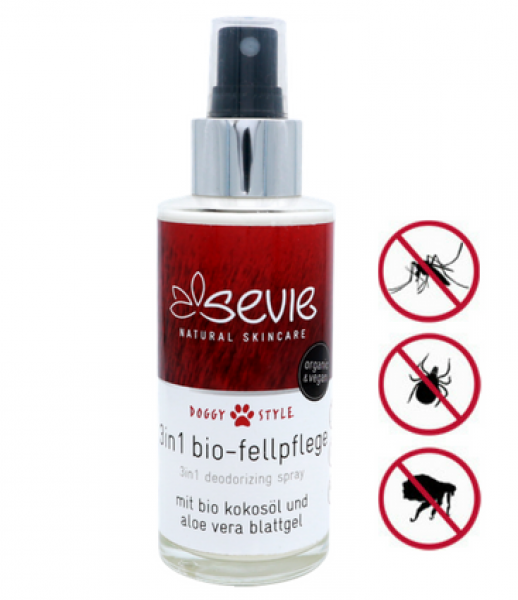 SEVIE doggy style - 3in1 bio Fellpflege mit Kokosöl & Aloe Vera 100 ml
