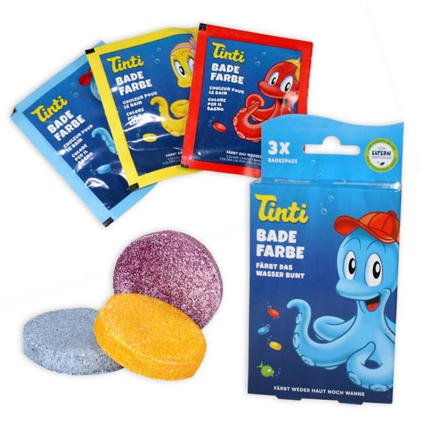 TINTI Bath Color 3pkg in 1
